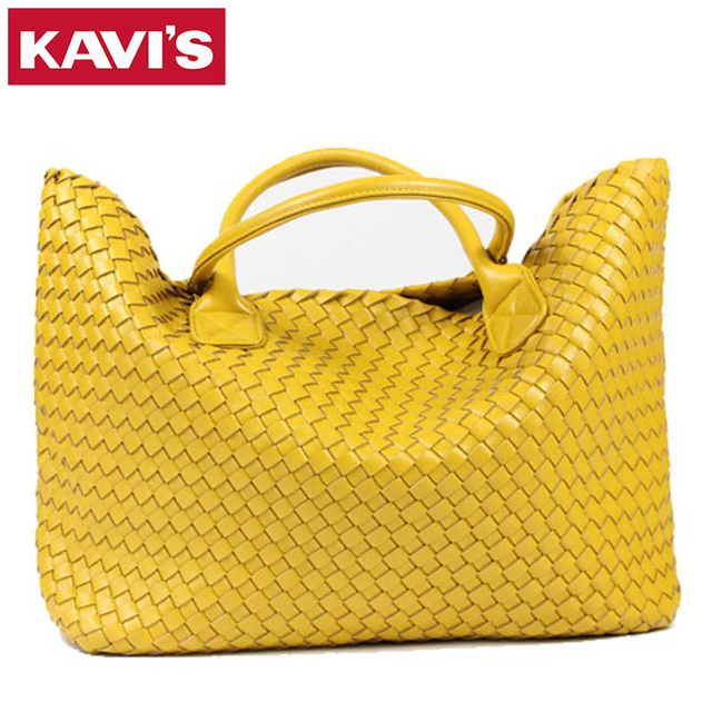 2017 New Fashion Famous Brand Pu Leather Woven Shoulder Bags For Office Hand Bag Women High