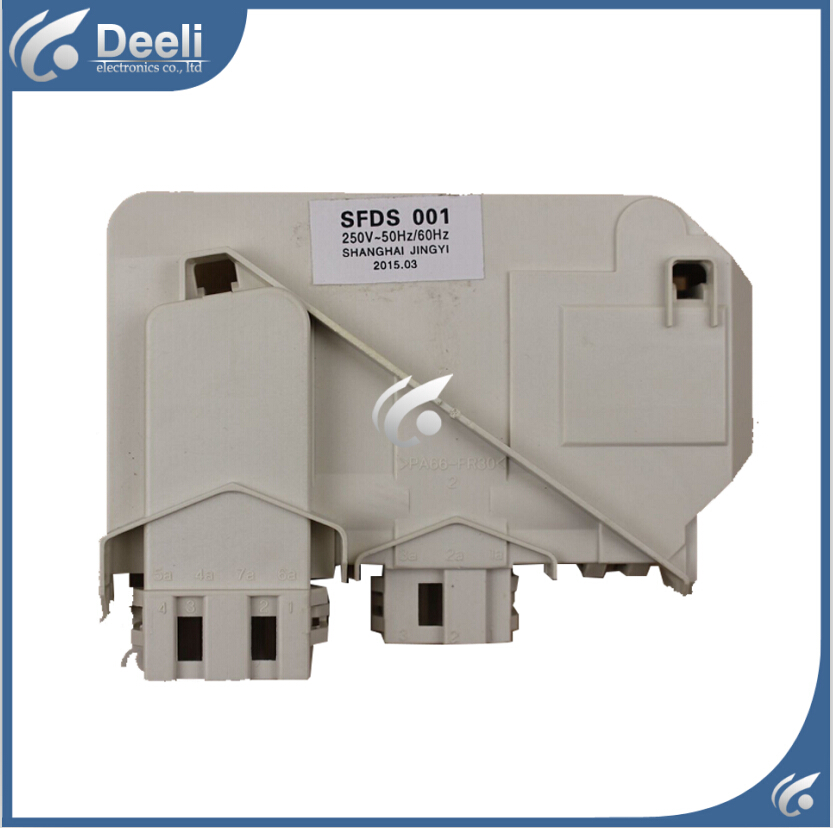 Free shipping Original for Samsung washing machine door switch DC64-00652D MG60-1203E door interlock switch original new for lg drum washing machine door hinge 42741701 1pcs