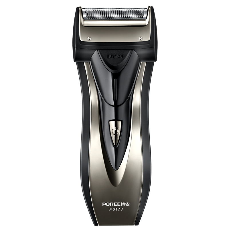 PS173 Electric Shaver For Men Electric Razor Shaving Machine Maquina De Afeitar Single Blade Wet and Dry Reciprocating Barbeador flyco fs719 wet dry twin shaving machine for men beard razor barbeador eletrico masculino man must haves barbeador