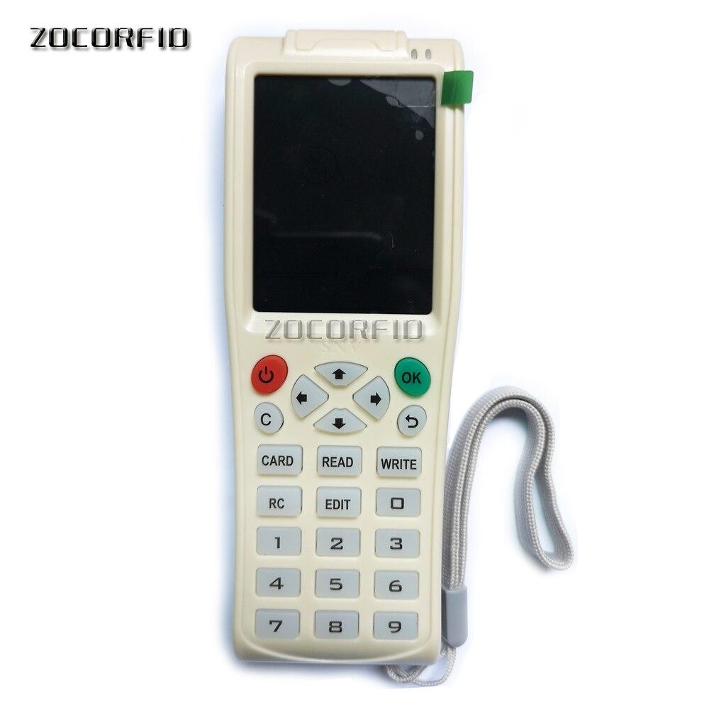 Date iCopy8 avec fonction de décodage complet carte à puce Machine à clé RFID Copie/lecteur/graveur duplicateur
