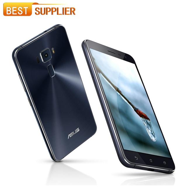 2017 ASUS Zenfone 3 ZE552KL Android 6.0 4GB RAM 64GB ROM FDD LTE Cell phones 5.5 inch Octa Core 1080P 16.0MP Fingerprint