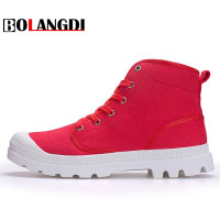 Bolangdi 2017 New Canvas Hiking Shoes Breathable