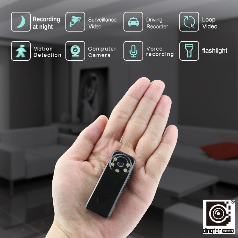Prix pour Mini V5Y Caméra HD de Détection de Mouvement Vidéo DV DVR Petit Cam Micro Digtal Caméscope Fiche Avec Lumineux La Nuit Vision lampe de poche
