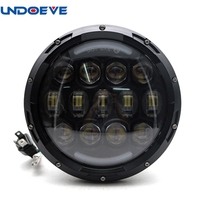 1pcs 7 Inch Round 105W LED Headlight Projector For Harley Davidson Motorcycle Ultra Classic Electra Street