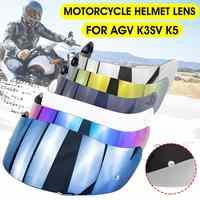 Motorcycle Full Face Helmet Lens Visor Shield For AGV K3SV K5 Helmets Glasses Mask with Pin Lock
