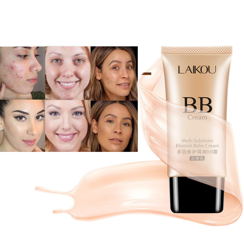 Make Up BB Cream Moisturizing Whitening Oil Control BBCream Nude Matte Concealer Base Makeup High Coverage Foundation Cosmetics miss rose 7ml mini concealer foundation base makeup repair nourish oil control liquid foundation nude make up bases maquiagem