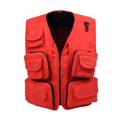 Free shipping,multifunctional brand Black mens Tactical vest,multi pockets vest men,reporter jacket vest jacket