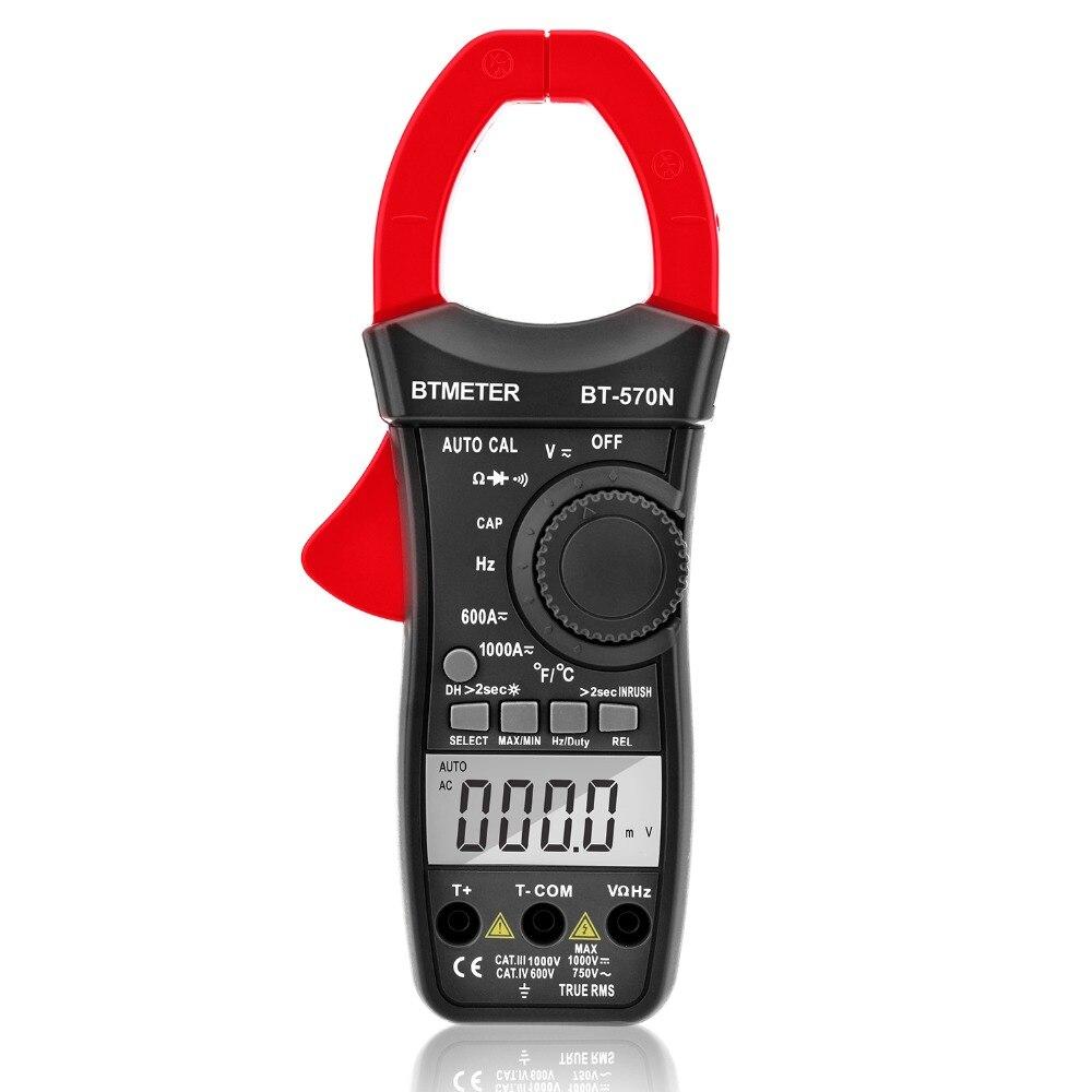 BTMETER Clamp Multimeter BT 570N Auto Range AC DC Clamp meter 6000 Counts