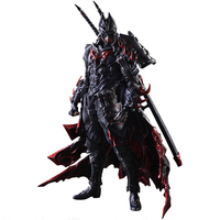 PLAY ARTS KAI DC Comics Justice League Batman Timeless Bushido PVC Action Figure Collectible Model Kids Toys Doll 27cm