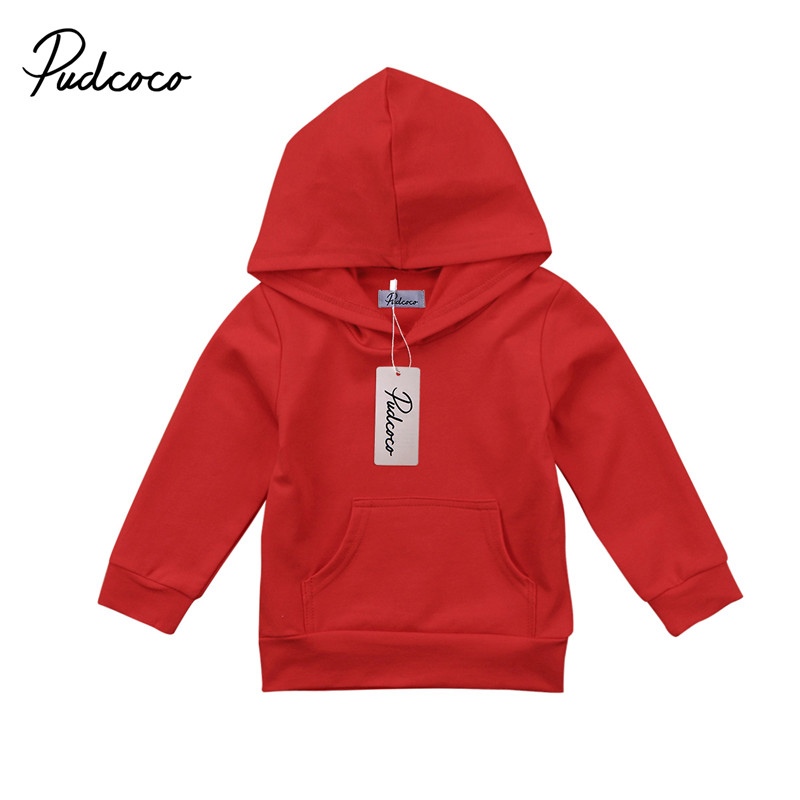 Hot sell Toddler Newborn Baby Boys Girls Clothes Long Sleeve Hoodie Tops Hooded Sweatshirt Outdoor Outwear Outfits
