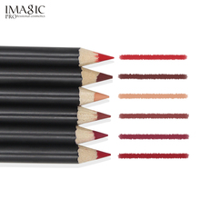 IMAGIC Lipliner Pencil  Waterproof Cosmetic Lip Liner Pen Makeup 12 Colors