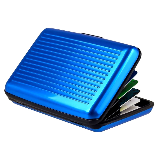 New business id credit card holder wallet mini suitcase bank card new business id credit card holder wallet mini suitcase bank card name card holder box case reheart Images