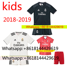 7d6ac1e08 Hot sales liga 2018 2019 Top Best Qualit kids kit Short Soccer jersey 18 19  Realed Madrided Home Away 3RD kit Shirt Free shippi