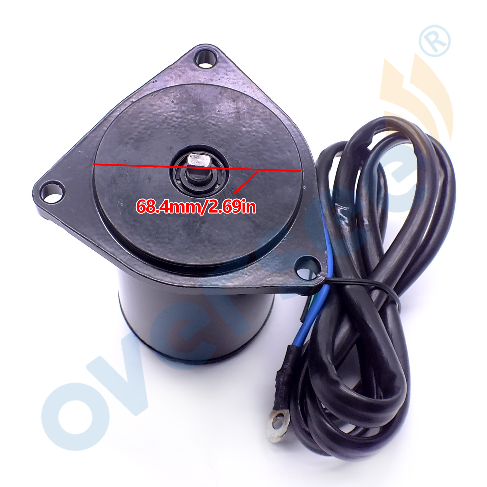 hight resolution of 6h1 43880 powertilt trim motor for yamaha outboard motor 50hp 55hp 60hp 70hp 85hp 90hp 6h1 43880 02 430 22028 in boat engine from automobiles motorcycles