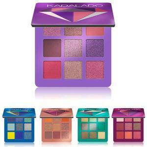 Image 4 - 9 renk göz farı paleti pırıltılı mat hediye göz farı kozmetik Glitter mat göz farı kalıcı çıplak pırıltılı makyaj göz