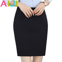 Black Color Fashion Women Skirt For Spring Summer Winter OL Formal Office Ladies Mini Short Skirts