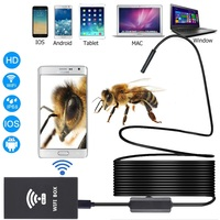 For Computer And Smart Phone 1200P WIFI Endoscope 1M 2M 3 5M 5M 10M Optional