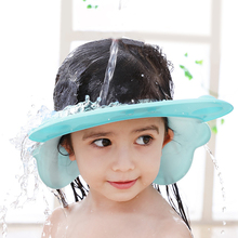 Kids Wash Hair Shield Direct Visor Caps Shampoo Bathing Shower Cap for Children