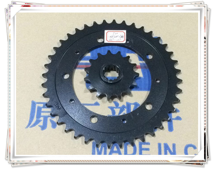 Motorcycle parts before and after the CBR400 29 stage chain sprocket 40T 15T 520
