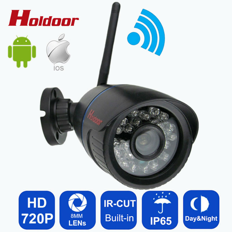 720P wifi IP Camera Onvif 2.0.4 P2P for Smartphone Waterproof IP65 CCTV Camera Night Vision P2P IP Security Cam with IR-cut 1280 720p 1mp onvif poe bullet ip camera outdoor waterproof p2p ir cut filter network camera mini night vision cctv security cam