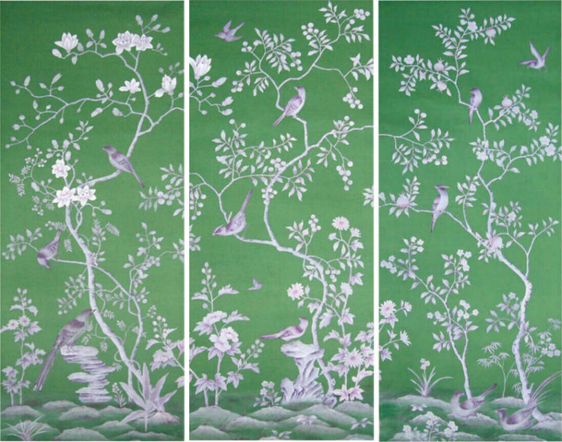 Bedroom/living room/Sofa/TV wallcovering background Hand-painted silk wallpaper peony  flower with bird many pictures optionals large mural papel de parede european nostalgia abstract flower and bird wallpaper living room sofa tv wall bedroom 3d wallpaper