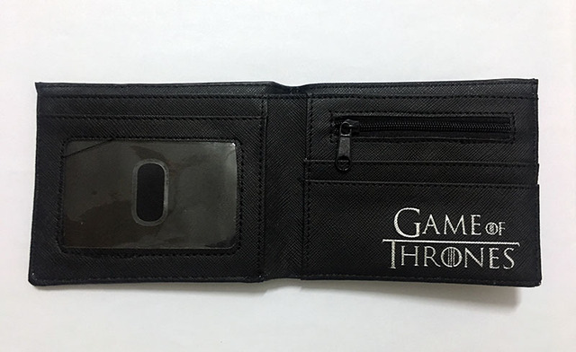 """Leather Wallets """"Games of Thrones"""" 3"""