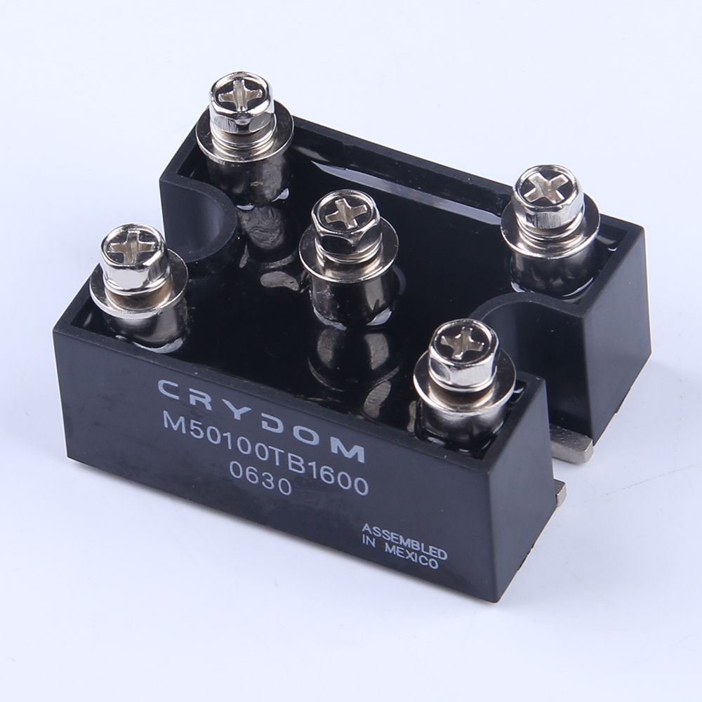 цена на New Arrival power 100A AMP 1600V Volt bridge rectifier diode three phase fast recovery rectifier diode 3PH M50100TB1600
