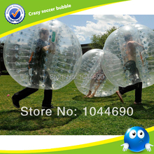 1.7m top quality 1.0mm PVC inflatable human bumper ball, body bumper ball