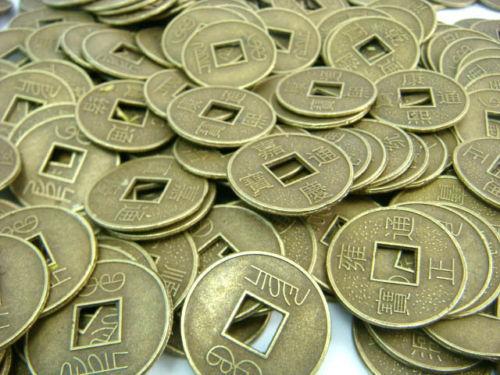 Feng shui 1000 STÜCKE Fengshui I Ging Münze Durchmesser: 0,55
