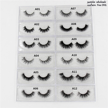 Mink Eyelashes cruelty free 3D Mink Lashes Thick HandMade Full Strip Lashes Cruelty Free Korean Mink Lashes 13 Style mink Lashes mink keer серый 5xl
