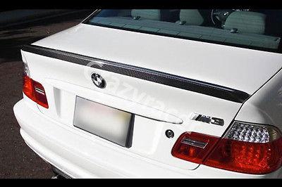 E46 aileron de coffre pour BMW E46 coupé 2 portes en Fiber de carbone M3 Style 1999-2004