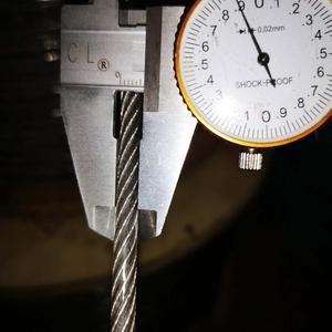(ПВХ) 5 мм, 10 м, 7X19 304 трос из нержавеющей стали с ПВХ покрытием более мягкий рыболовный кабель с покрытием трос
