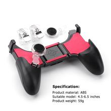 Game Controller Gamepad For PUBG Fire5 in 1 Mobile Phone Joy