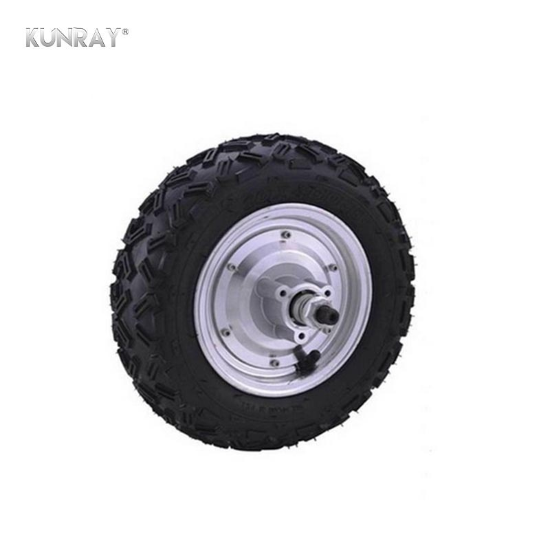 KUNRAY <font><b>500W</b></font> 36V 48V <font><b>DC</b></font> Electric Scooter Dirt Bicycle Motorcycle Brushless Non-Gear Hub <font><b>Motor</b></font> Engine For E-<font><b>Bike</b></font> Motocross Kit image