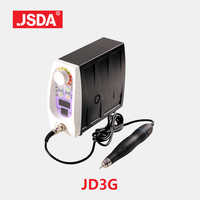 مباشرة بيع Jsda JD3G فرش السيارات المتقدمة ماكينة الطحن الكهربائية جهاز العناية بالقدم معدات مجوهرات اليشم تلميع