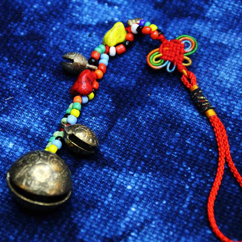 Yunnan Sentimenti Amorosi Etnico Appeso Decorazioni Nodo Cinese Perline Campane Carillon di Vento Speciale Regalo di Compleanno Decorativa