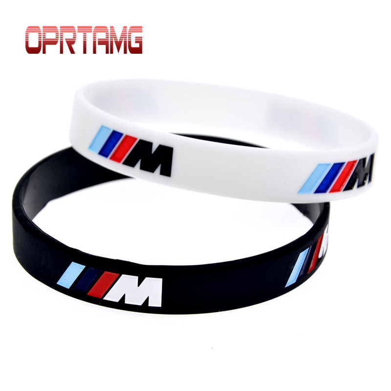 Car styling 1pcs Logo Engrave Hologram Bracelets Sport M Power Silicone Wristband Bangles For BMW Club Fans M3 M5 M6 3/5/7 Serie цена