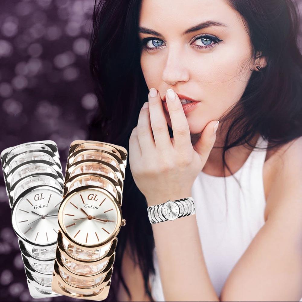 Women Bracelet Watches Quartz Ladies Dress Gold Vintage Wrist Watches Stainless Steel Women Wristwatch Girls Female Clock Hours dress watches women ladies gold