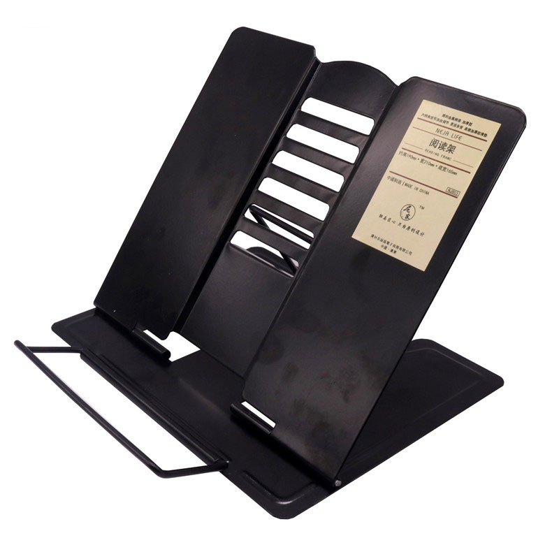 1 Pcs Anti-myopia Books Reading Frame Bookends Book Stand All Metal Material Black White Optional Office School Supplies inov 8 сумка all terrain kitbag black