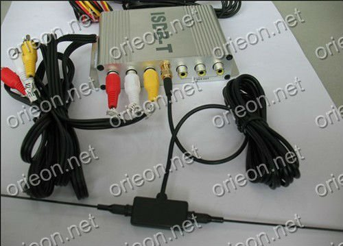 Free shipping 1pc/lot New Car ISDB-T Digital TV Box for Auto ISDB-T Receiving (ISDB03)