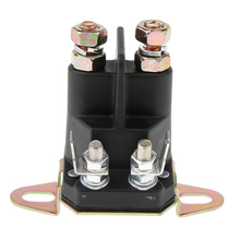 Portable Metal Motorcycle Solenoid Starter Relay for Electronic Applications Practical Replacement Part 3 x 2 2.6inch