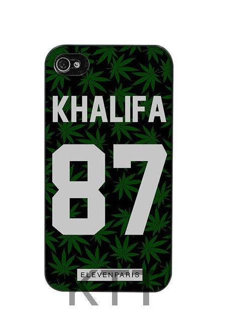 Khalifa Eleven Paris Coque Tpu Nero cell phone bags case cover for 4S 5C 5S SE 6S 7 Plus IPOD Samsung NOTE IPOD Touch 5 HTC SONY