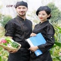 Kowboje Kucharz Z Długim Rękawem Zachodnia Restaurant Serwująca 12 Styl Zapach Hotelu Chef Chef Pracownika Z Krótkim Rękawem