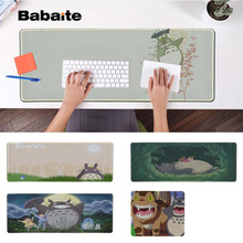 Babaite In Stocked Totoro Locking Edge Mouse Pad Game Rubber PC Computer Gaming mousepad