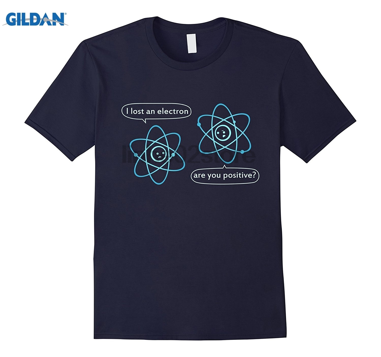 GILDAN I Lost an Electron Are You Positive - Chemistry Joke T-Shirt sunglasses women T-shirt Mothers Day Ms. T-shirt