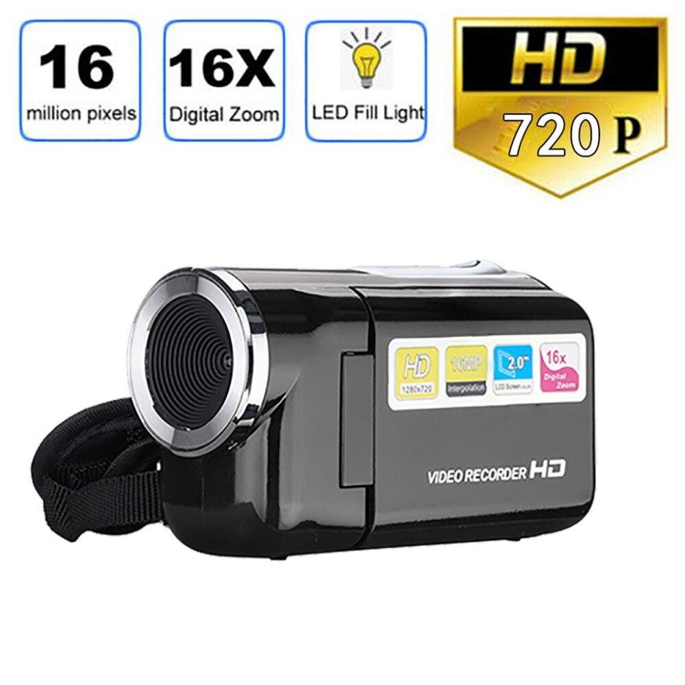 2.0 Inch TFT LCD Screen Digital Camera XD22 16MP HD 1280 X 720 16X Digital Zoom Toy Camera Video Recorder Mini Kids/Baby Camera