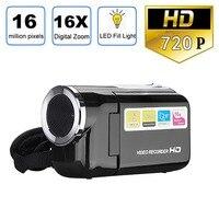 2,0 дюймовый TFT ЖК-экран Цифровая камера XD22 16MP HD 1280x720 16X цифровой зум игрушка камера видео рекордер мини дети/ребенок камера