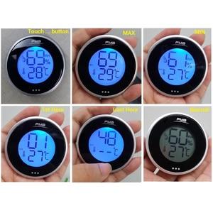 Image 3 - الرقمية هوميدور ميزان الحرارة مقياس الرطوبة الرطوبة ل السيجار التبغ خزانة مشروبات المنزل المطبخ غرفة الطفل مقياس الحرارة