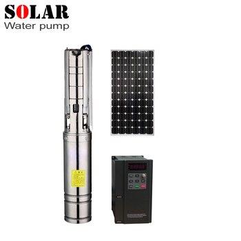 240m 6,8 T синхронный контроллер двигателя постоянного магнита Солнечный водяной насос Солнечный насос погружной воды