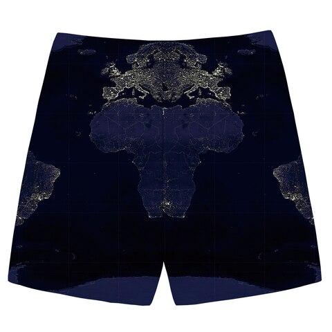 KYKU World Map Shorts Men Blue Sea Casual Shorts Cargo Graphics 3d Printed Short Pants Sweat Anime Mens Shorts Fashion Summer Islamabad